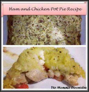 ham and Chicken Pot Pie 6