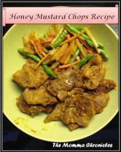 Honey Mustard Chops 5