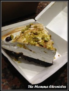 Smores Pie, P130.00 / slice