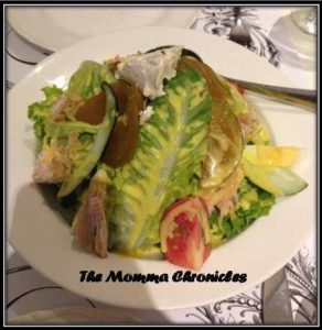 Relish Chef Salad, P320.00