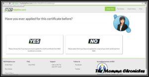 Birth Certificate 4
