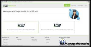 Birth Certificate 5