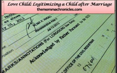 #TheLegalMomma: Love Child: Legitimizing a Child after Marriage