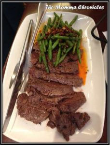 Filette de Carne con Ajo (Angus Rib-eye), P998.00
