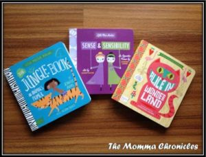 BabyLit books from Moderne Lifestyle, P400 each