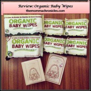 Organic Baby Wipes 1