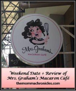 Mrs Grahams 1