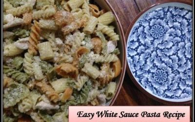 #TMCKitchenSeries: The Simplest White Sauce Pasta You Can Make