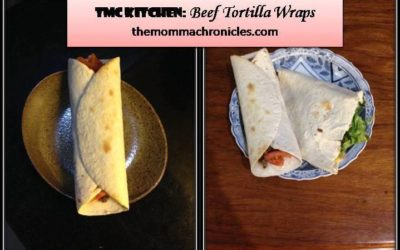 #TMCKitchenSeries: Pork and Beef Tortilla Wrap + My (Not So) Secret Ingredient to Make the Sauce Taste Better