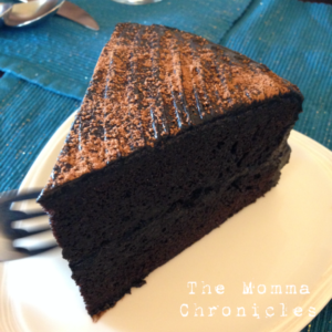 Dark Chocolate Cake :)