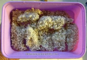 Breaded Fish Fillet for the Little Ones :)