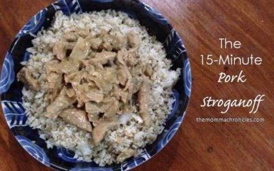 #TMCKitchenSeries: The 15-Minute Pork Stroganoff