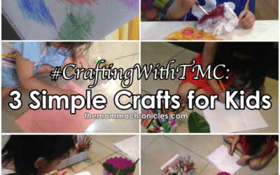 #CraftingWithTMC : 3 Simple But Fun Crafts You Can Do with Kids