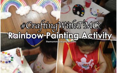 #CraftingWithTMC: Rainbow Painting Activity