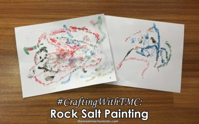 #CraftingWithTMC : Rock Salt Painting Activity