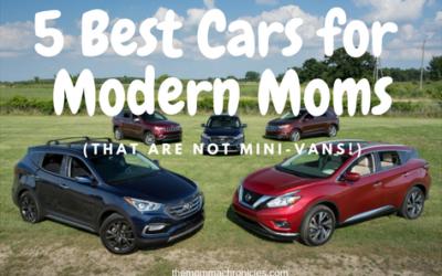 5 Best Cars for Modern Moms (That Are Not Minivans!)