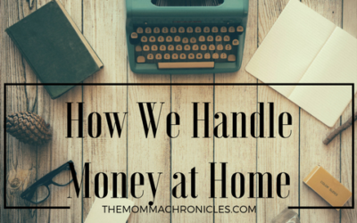 The Money Talk: How We Handle Money at Home