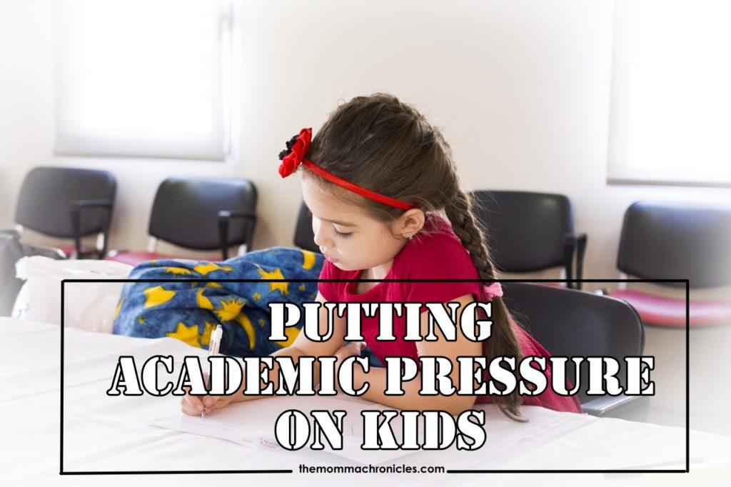 Academic pressure on kids