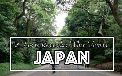 15 Things to Remember when Going to Japan