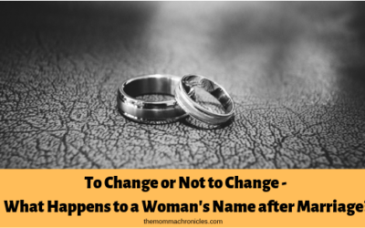 What happens to a woman's name after marriage?