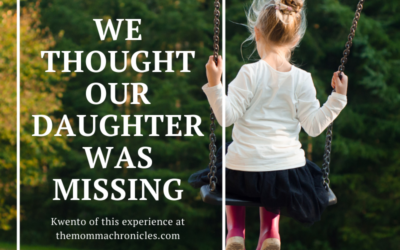 We Thought We Lost Our Daughter