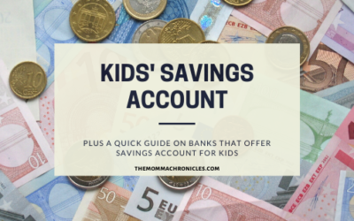 Our Kids Finally Have Their Own Savings Account