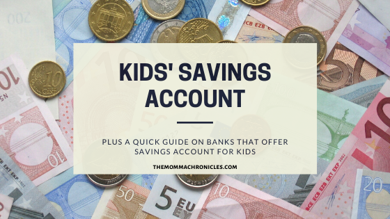 Savings Account for Kids