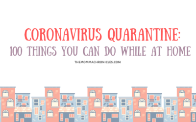 100 Things We Can Do While Under Enhanced Community Quarantine