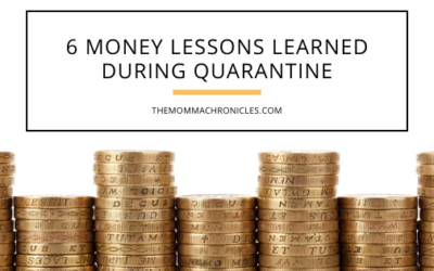 6 Money Lessons We Can Learn From During Quarantine