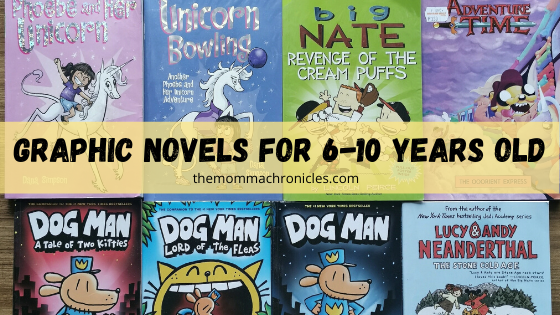 5 Graphic Novels That Encouraged My 6-Year Old To Read