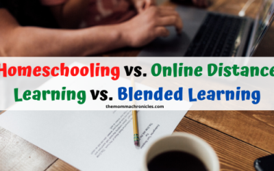 Homeschool vs. Online Distance Learning vs. Blended Learning: What's The Difference?