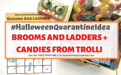 HalloweenQuarantine + FREE Printable: Brooms And Ladders – And Candies From Trolli Philippines